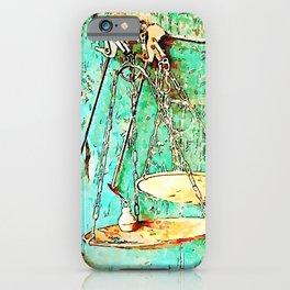 Hortus Conclusus: scales iPhone Case