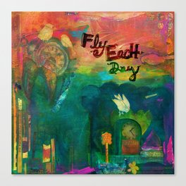 Fly Each Day Canvas Print