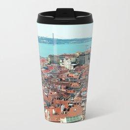 Lisbon, Portugal Analog 6x6 Kodak Ektar 100 (RR 163) Travel Mug