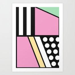 Geometric Calendar - Day 10 Art Print
