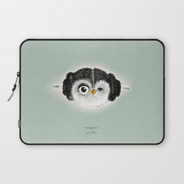 """""""May the Force be with you."""" (Princess Leia 1977) Laptop Sleeve"""