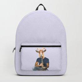 Goat Musician Backpack