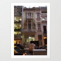 La Hermosa Tintoreria, Belles Artes Art Print