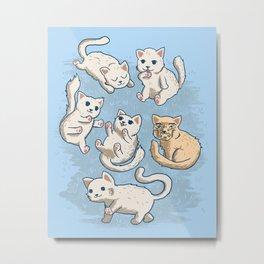 Cute Kittens Metal Print