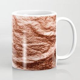 Rose gold draped foil Coffee Mug