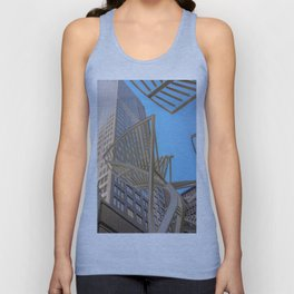 downtown sky Unisex Tank Top