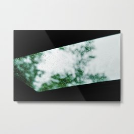 Rainy Drive Metal Print