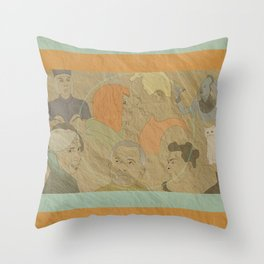 The Fifth Element Throw Pillow