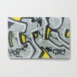 Urban Tapestry VI Metal Print