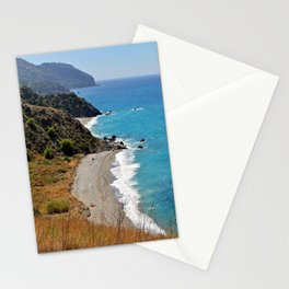 Alberquillas Beach Costa Del Sol Spain Stationery Cards