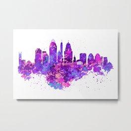 Cincinnati Skyline Metal Print