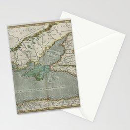 Vintage Map - Ortelius: Theatrum Orbis Terrarum (1606) - Crimea and the Black Sea Stationery Cards