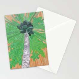 Papaya Tree Stationery Cards