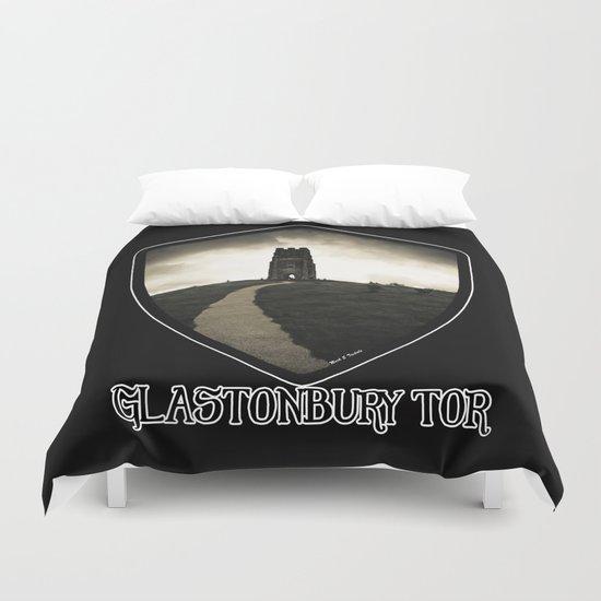 Dark Tor - Glastonbury Duvet Cover