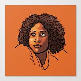 Taystee Canvas Print
