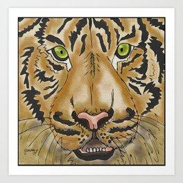 Jungle Eyes Art Print