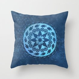 Bluegill Medallion Throw Pillow