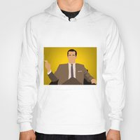 mad men Hoodies featuring Don Draper - Mad Men by Tom Storrer