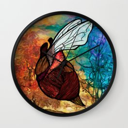 Heartbug Wall Clock