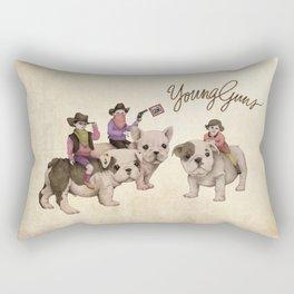Young Guns Rectangular Pillow