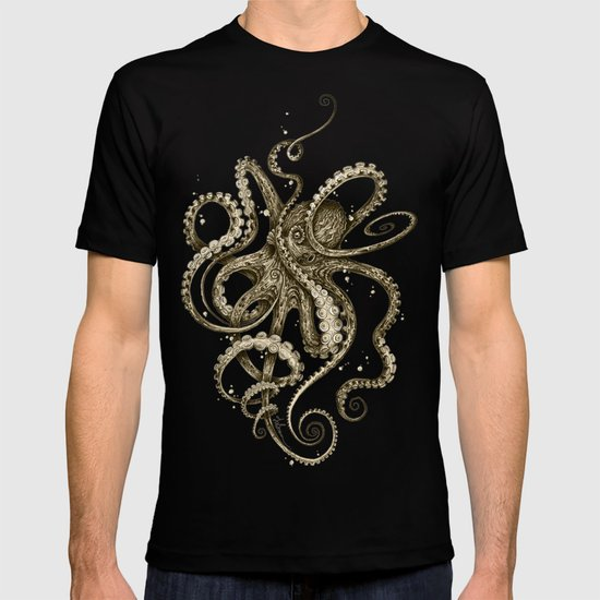 Octopsychedelia Sepia by taojb
