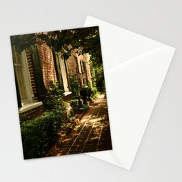 Beautiful Charleston Alley Stationery Cards