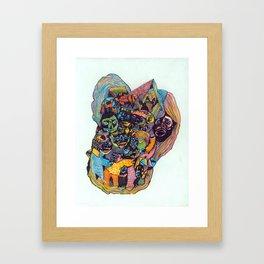 Circle of Friends Framed Art Print