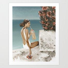 Aranciata Art Print