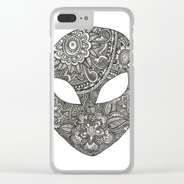 Alien Power Clear iPhone Case