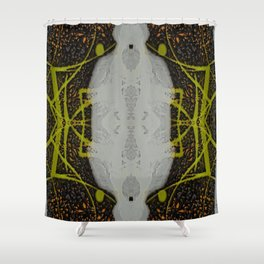 FX#88 - Etched  Shower Curtain