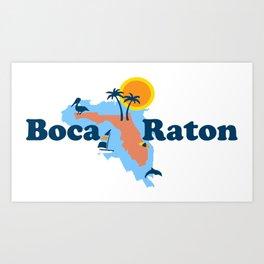 Boca Raton  - Florida. Art Print