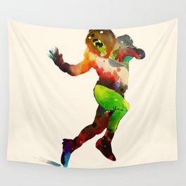 Trophy Pose Wall Tapestry