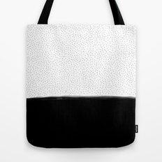 Dots and Black II Tote Bag