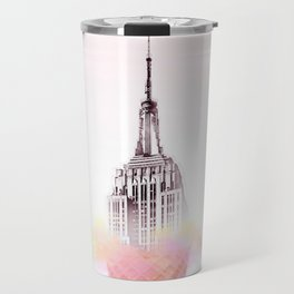 Building Afloat, Welcome to New York Travel Mug