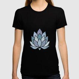 Elegant Glamorous Pastel Lotus Flower T-shirt