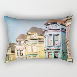Rainbow Road Rectangular Pillow