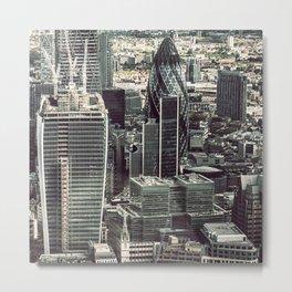 london skyline Metal Print