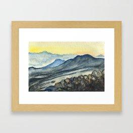 Haleakala Study Framed Art Print