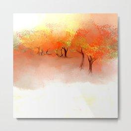 Unbelievable Autumn Metal Print