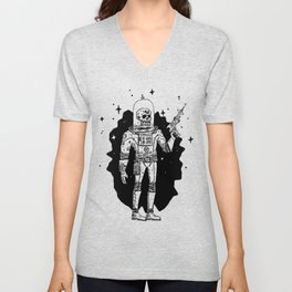 Intergalactic Bone Man Unisex V-Neck