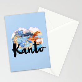 Kanto Stationery Cards
