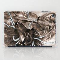 the hound iPad Cases featuring Hound Dog by Estúdio Marte