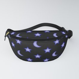 Moons and stars pattern Fanny Pack