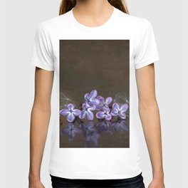 Lilac blossoms T-shirt