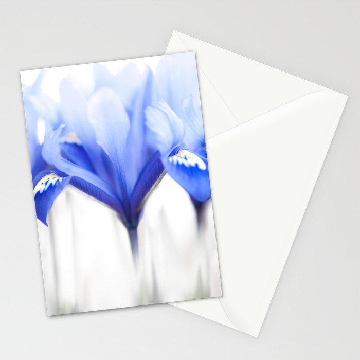 Blue Iris 1 Stationery Cards