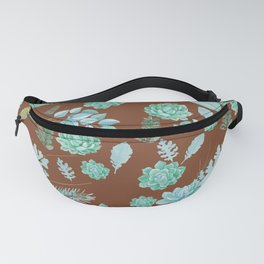 Succulent Pattern Fanny Pack