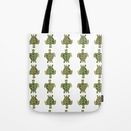 Wise Sea Turtle Tote Bag