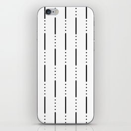 Morse Code #159 iPhone Skin