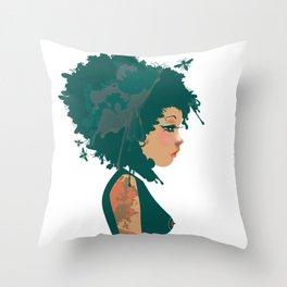 Je suis mon art  Throw Pillow