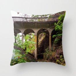 Explore in the PNW Throw Pillow